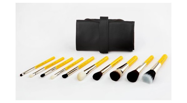 Mineral 10pc. Travel Brush Set