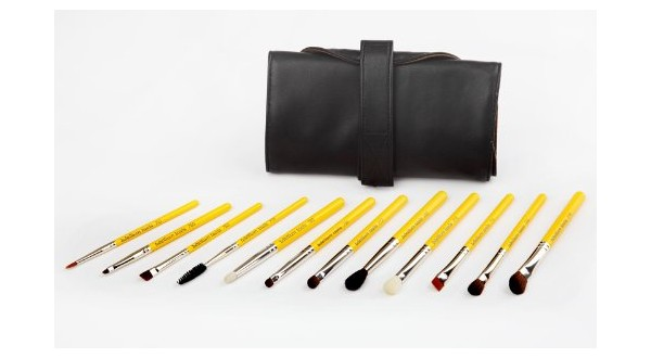 Eyes 12pc. Travel Brush Set