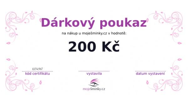 Dárkový poukaz 200Kč