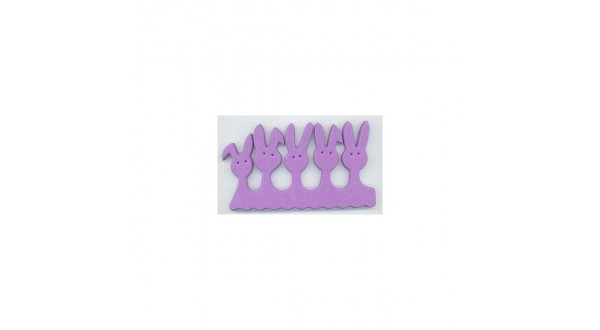 Separátor prstů Violet Bunny