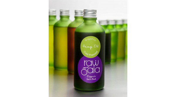 Organic Hemp Cold-Pressed Oil