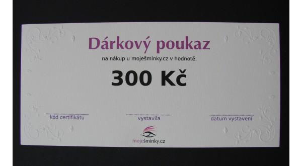 Dárkový poukaz 300Kč