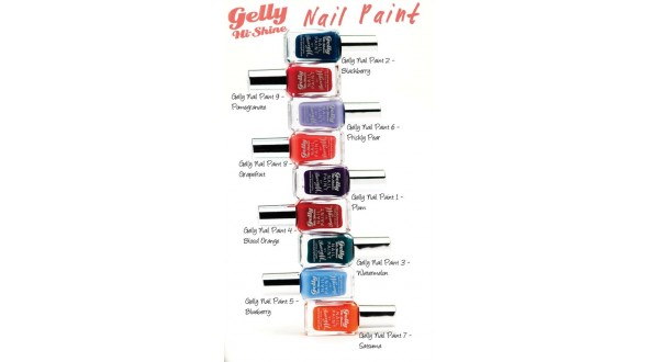 Gelly Nail Paints